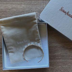 NIB Dannijo Silver Cuff Bracelet